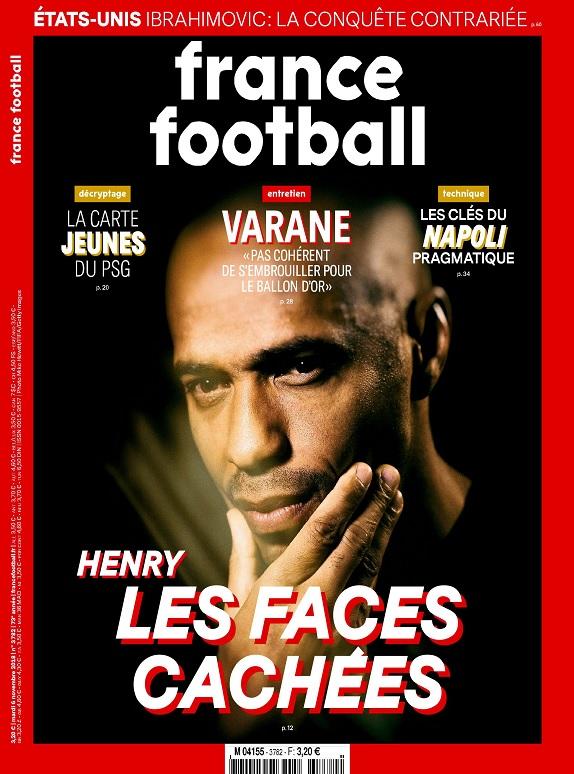 France Football N°3782 Du 6 Novembre 2018