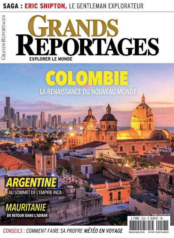 Grands Reportages N°453 – Novembre 2018