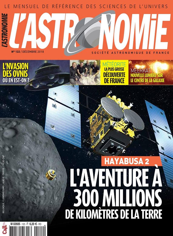 L'Astronomie N°122 – Décembre 2018
