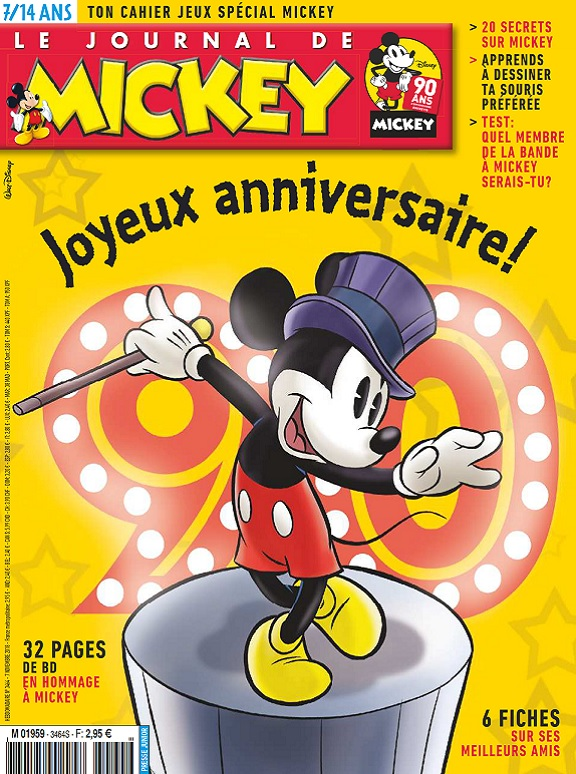 Le Journal De Mickey N°3464 Du 7 Novembre 2018