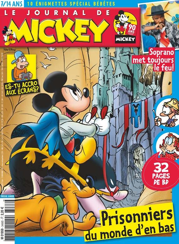 Le Journal De Mickey N°3466 Du 21 Novembre 2018