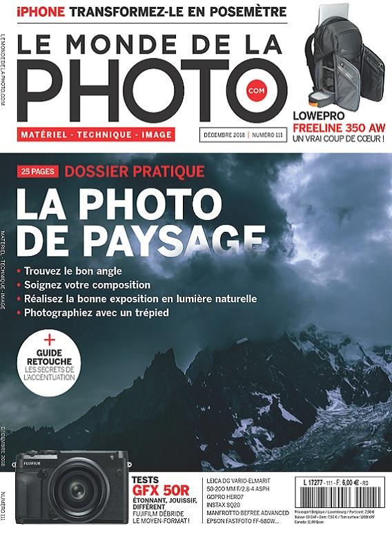 Le Monde De La Photo N°111 – Décembre 2018
