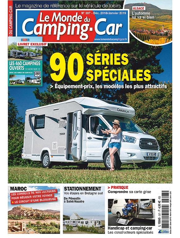 Le Monde Du Camping-Car N°307 – Décembre 2018-Janvier 2019