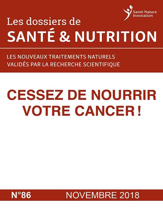 Les Dossiers De Santé et Nutrition N°86 – Novembre 2018