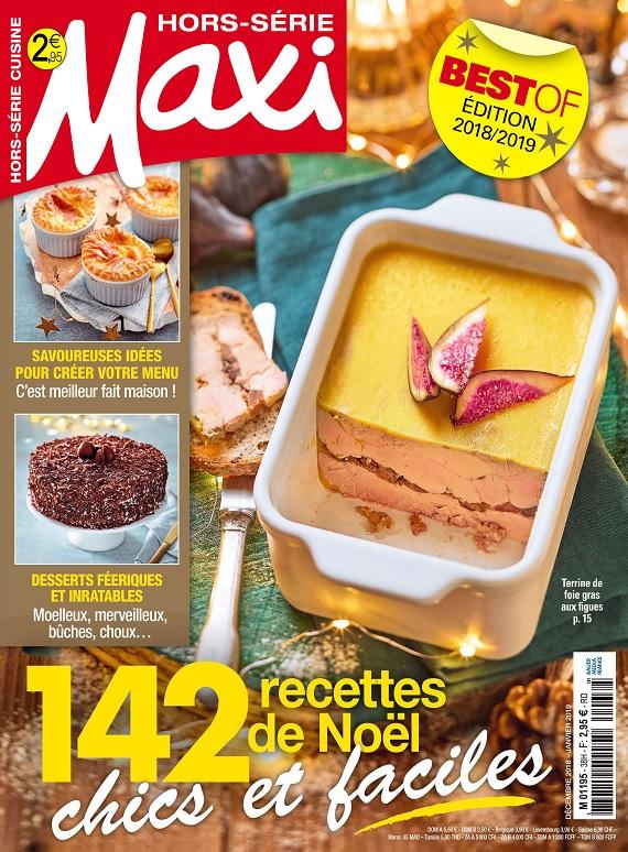 Maxi Hors Série Cuisine N°38 – Décembre 2018-Janvier 2019