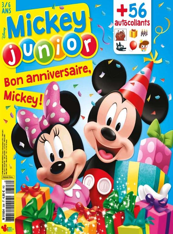 Mickey Junior N°398 – Novembre 2018