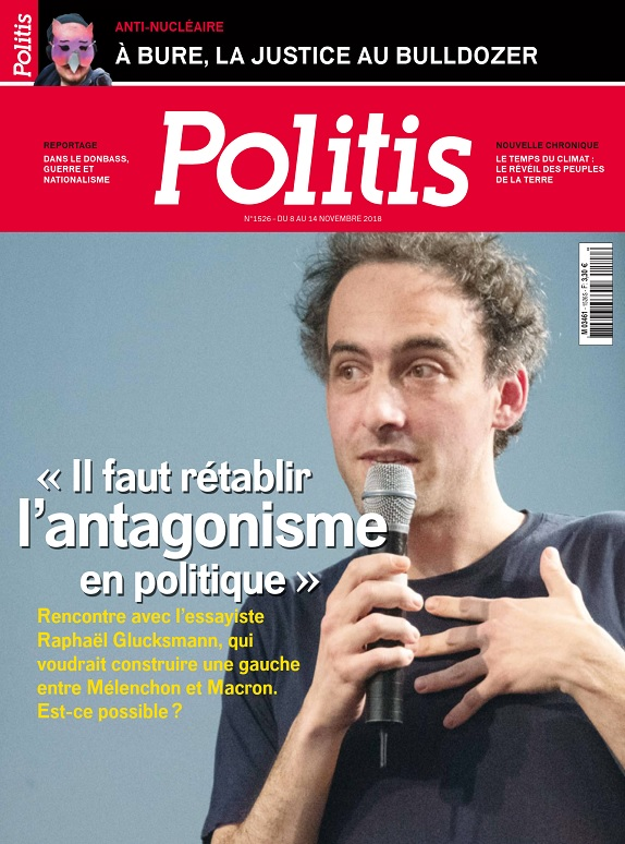 Politis N°1526 Du 8 Novembre 2018