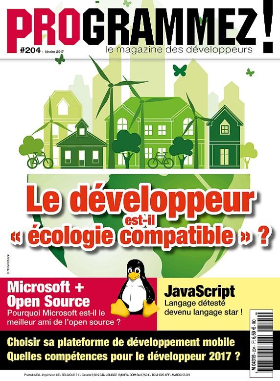 Programmez N°204 – Le Développeur est-il écologie compatible ?