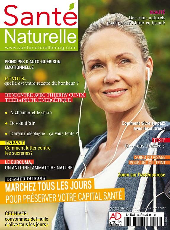 Santé Naturelle N°66 – Novembre-Décembre 2018