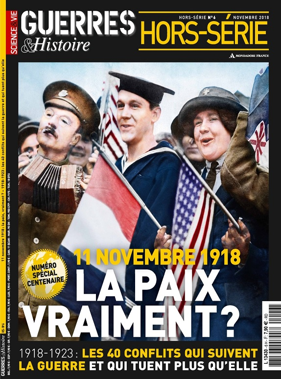 Science et Vie Guerres et Histoire Hors Série N°6 - Novembre 2018