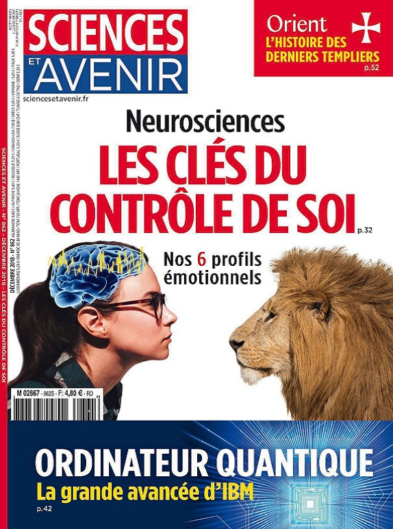 Sciences et Avenir N°862 – Décembre 2018