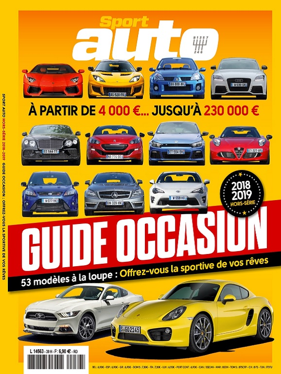 Sport Auto Hors Série N°39 – Guide Occasion 2018-2019