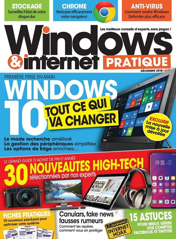 Windows et Internet Pratique N°76 – Décembre 2018