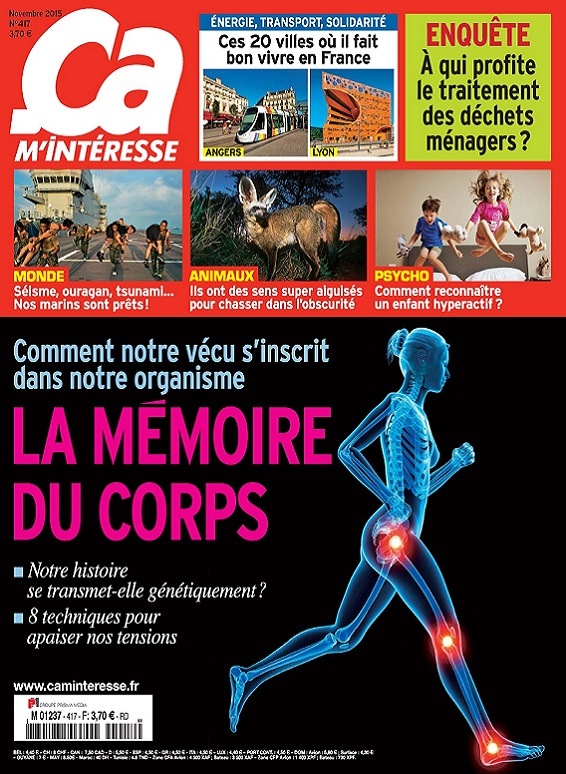 Ça M'Intéresse N°417 – La Mémoire Du Corps