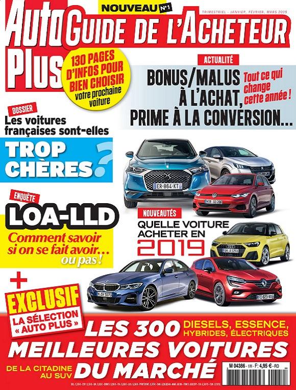 Auto Plus Guide De L'Acheteur N°1 – Janvier-Mars 2019