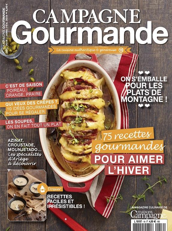 Campagne Gourmande N°16 – Décembre 2018-Février 2019