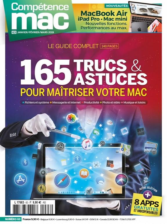 Compétence Mac N°63 – Janvier-Mars 2019