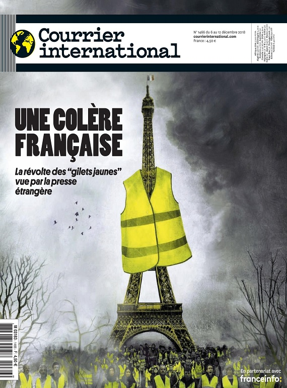Courrier International N°1466 Du 6 au 12 Décembre 2018