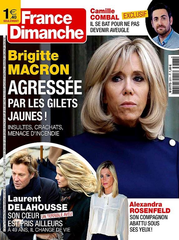 France Dimanche N°3771 Du 7 au 13 Décembre 2018