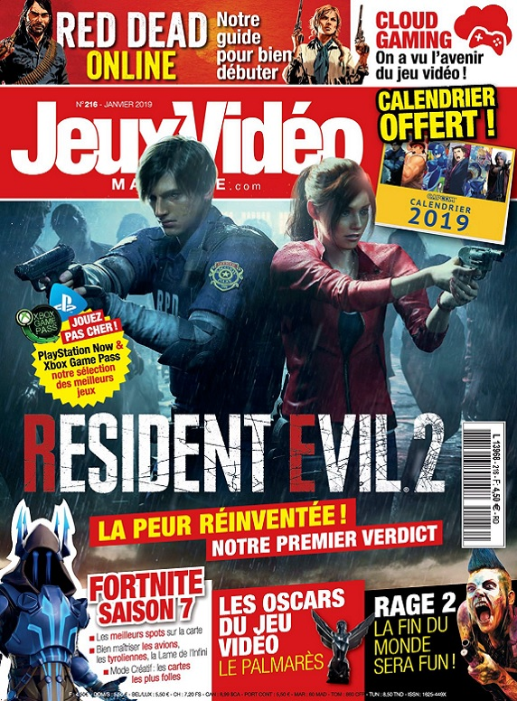 Jeux Vidéo Magazine N°216 – Janvier 2019