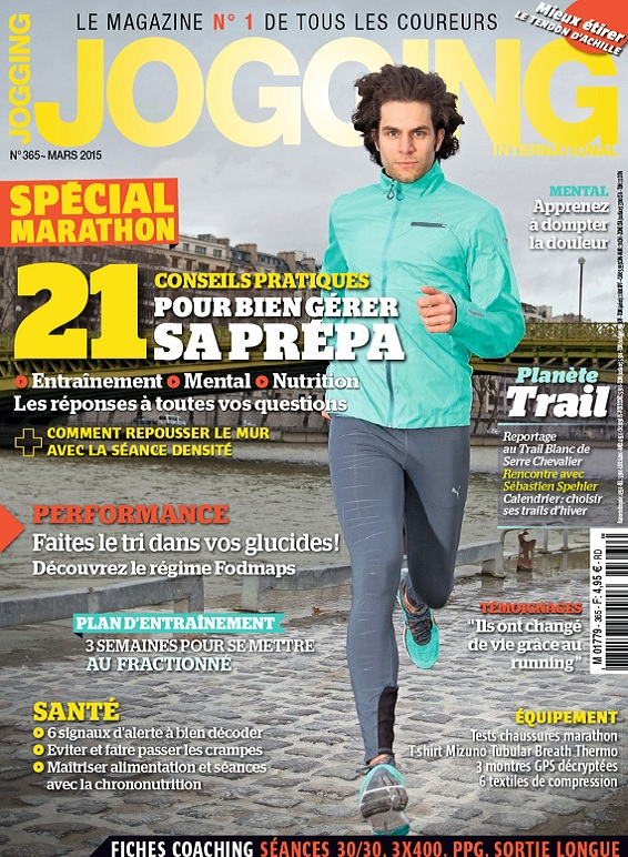 Jogging International N°365 – Spécial Marathon