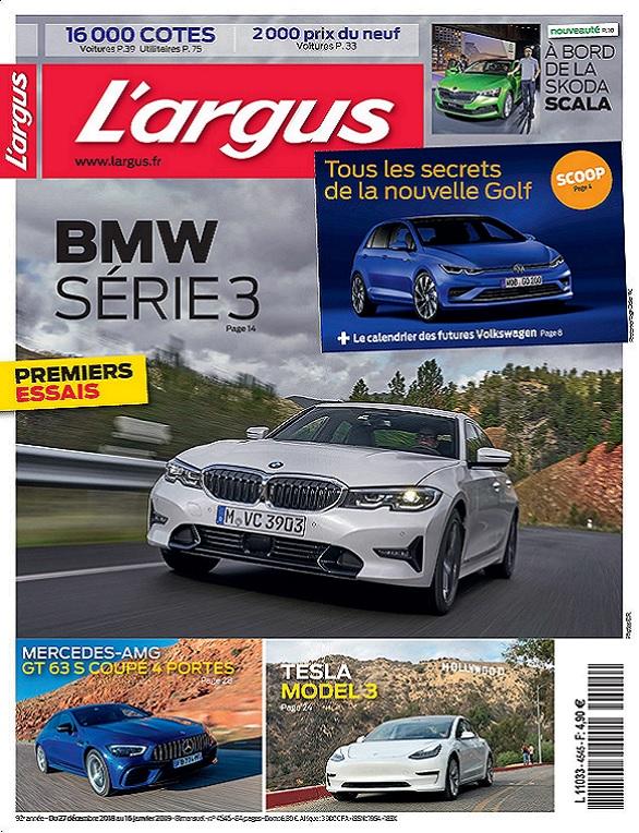 L'Argus N°4545 Du 27 Décembre 2018 au 16 Janvier 2019