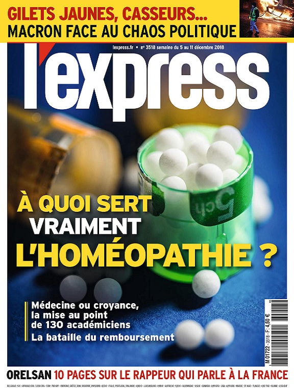 L'Express N°3518 Du 5 au 11 Décembre 2018