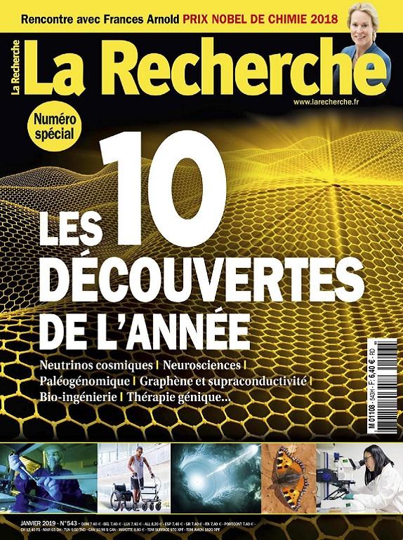 La Recherche N°543 – Janvier 2019