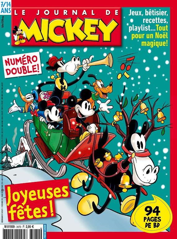 Le Journal De Mickey N°3470-3471 Du 19 Décembre 2018