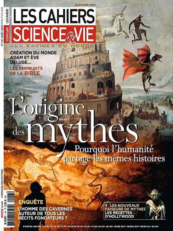 Les Cahiers De Science et Vie N°147 – L'Origine Des Mythes