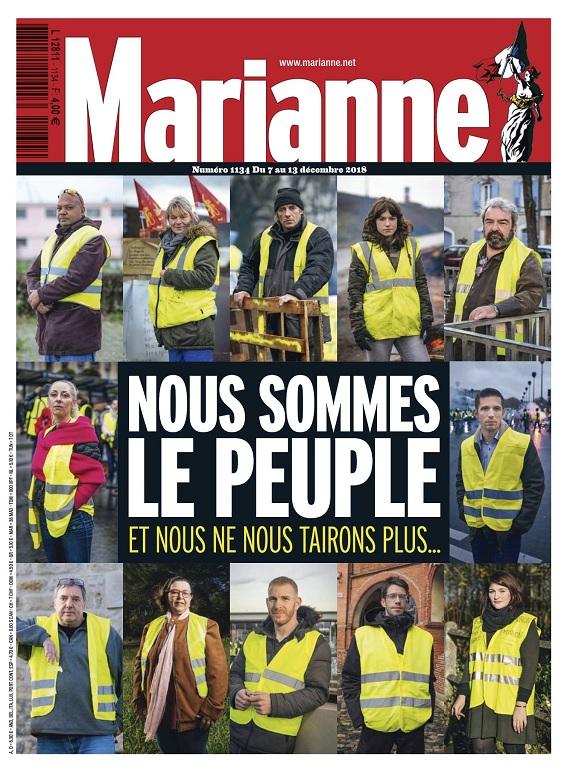 Marianne N°1134 Du 7 au 13 Décembre 2018
