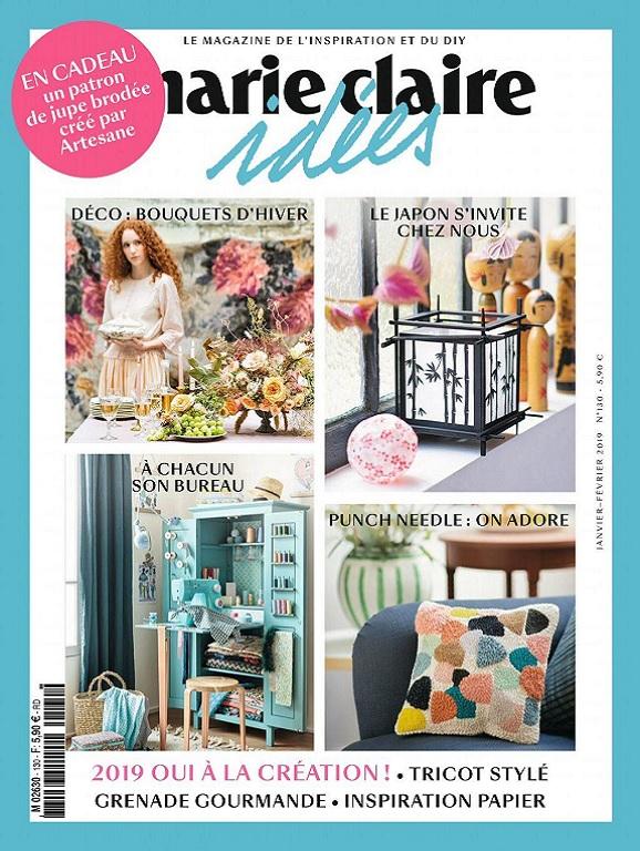 Marie Claire Idées N°130 – Janvier-Février 2019