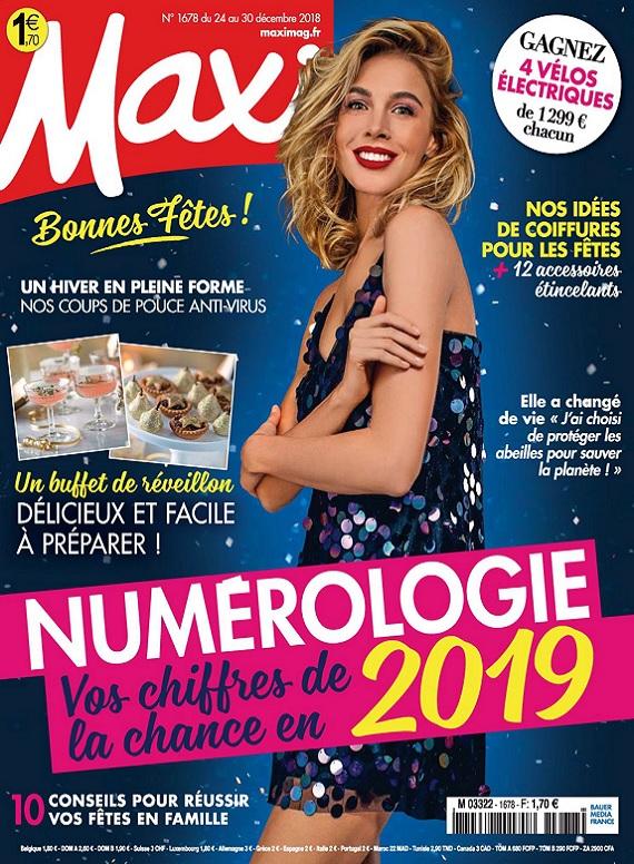 Maxi N°1678 Du 24 Décembre 2018