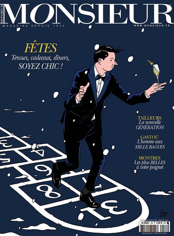 Monsieur Magazine N°134 - Décembre 2018-Janvier 2019