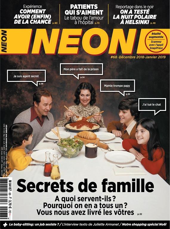 Néon N°68 – Décembre 2018-Janvier 2019