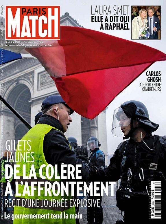 Paris Match N°3630 Du 6 au 12 Décembre 2018