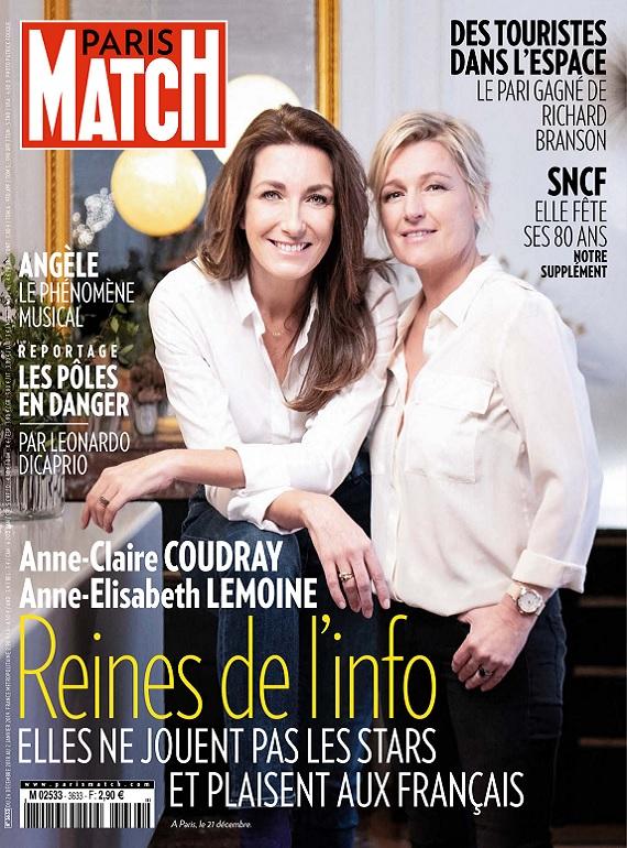 Paris Match N°3633 Du 26 Décembre 2018 au 2 Janvier 2019