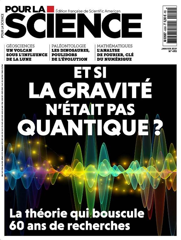 Pour La Science N°495 – Janvier 2019