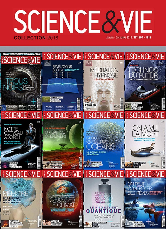 Science et Vie – Collection Complète 2018