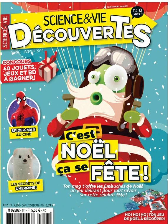 Science et Vie Découvertes N°241 – Janvier 2019