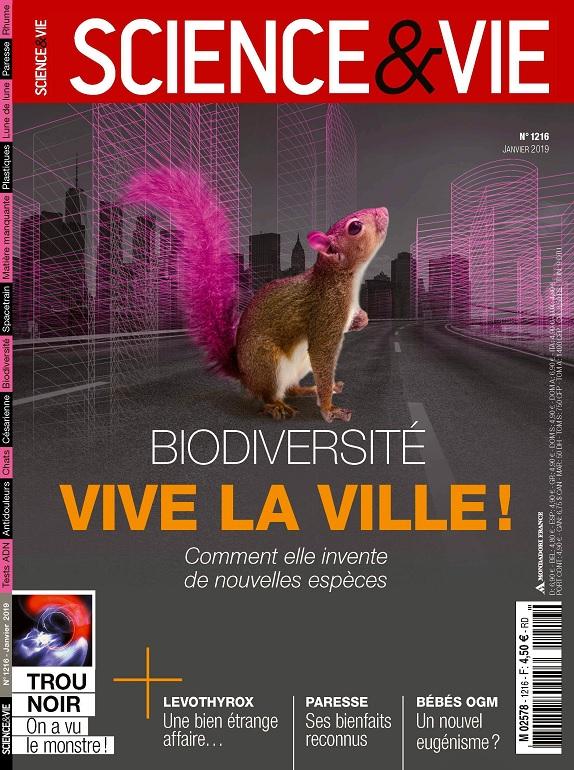 Science et Vie N°1216 – Janvier 2019