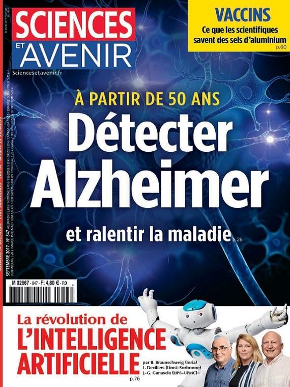 Sciences et Avenir N°847 – Détecter Alzheimer et Ralentir La Maladie