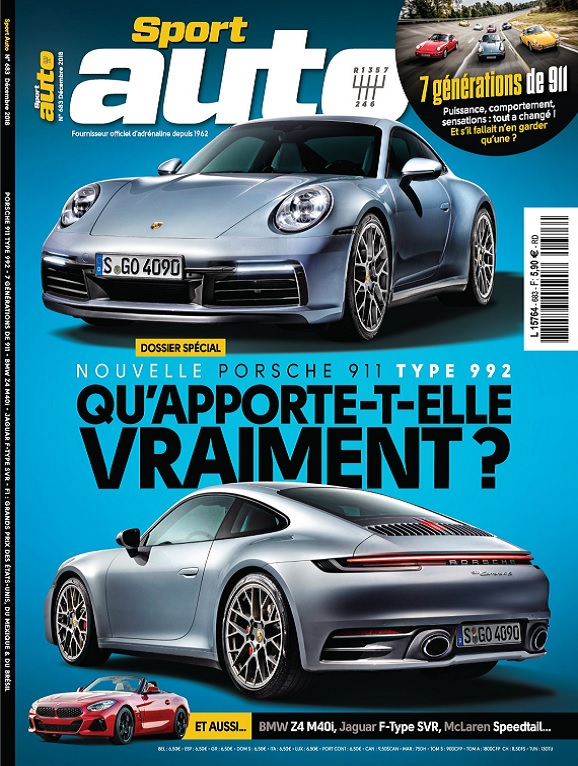 Sport Auto N°683 – Décembre 2018