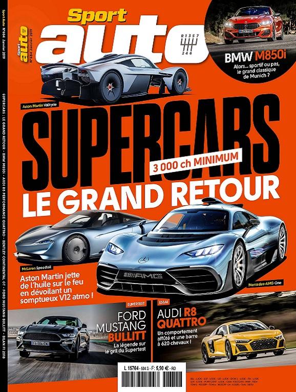 Sport Auto N°684 – Janvier 2019