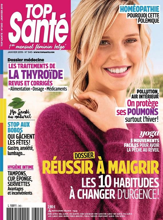 Top Santé N°340 – Janvier 2019