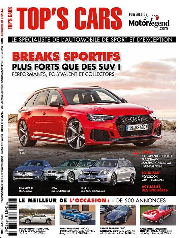 Top's Cars N°622 – Décembre 2018