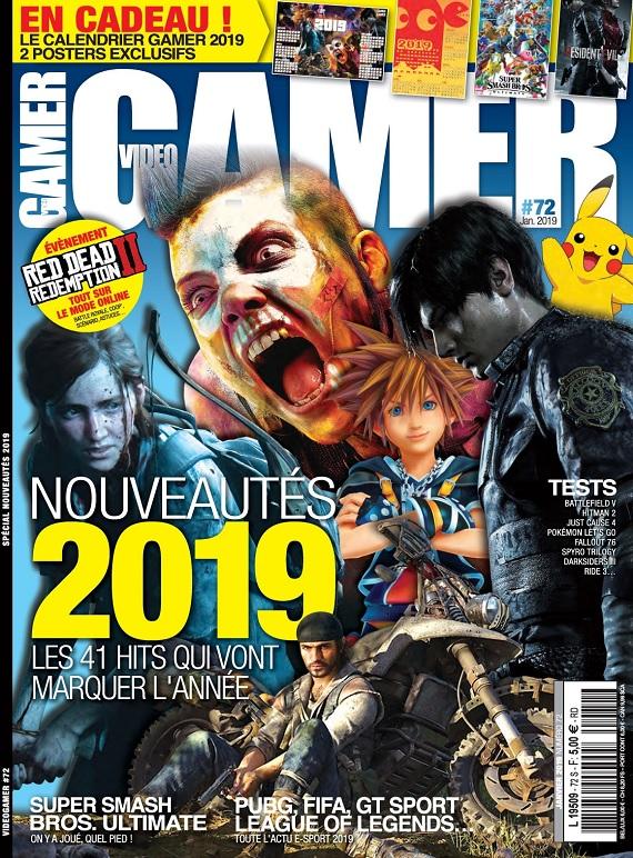 Video Gamer N°72 – Janvier 2019