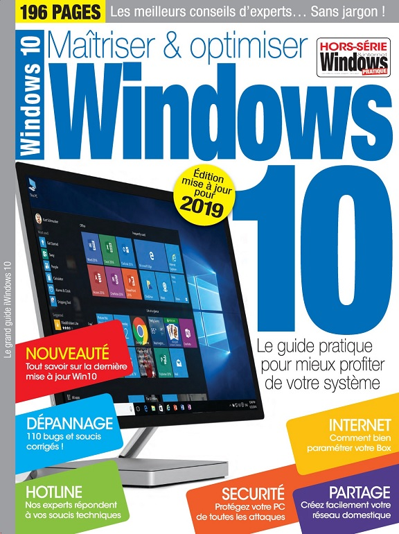 Windows 10 Hors Série N°17 – Maîtriser et Optimiser Windows 10