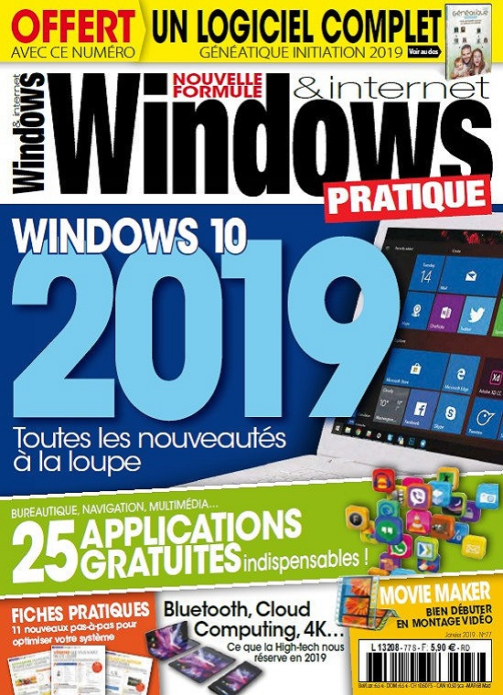 Windows et Internet Pratique N°77 – Janvier 2019