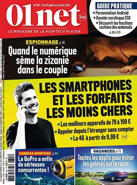 01Net N°801 – Les Smartphones